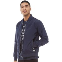JACK AND JONES Mens Pacific Bomber Jacket Total Eclipse