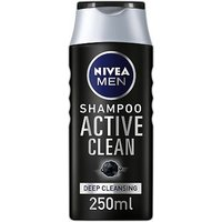 NIVEA MEN Deep Cleansing Shampoo Active Clean 250ml