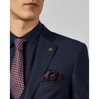 Debonair Check Wool Suit Jacket