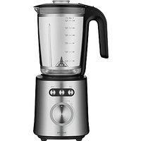 John Lewis & Partners Blender, Black/Stainless Steel