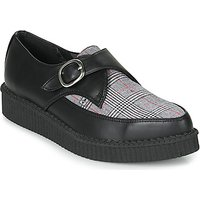 TUK  POINTED CREEPER BUCKLE  men's Casual Shoes in Black
