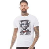 Brave Soul Mens Haven T-Shirt Optic White
