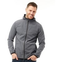 French Connection Mens Printed Windrunner Charcoal Grey