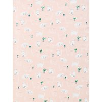 John Lewis & Partners Cats PVC Tablecloth Fabric, Plaster