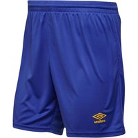 Umbro Mens Atlas Match Shorts Dazzling Blue/SV Yellow