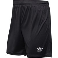 Umbro Mens Atlas Match Shorts Black/White