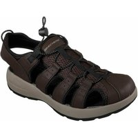 Skechers  MELBO - JOURNEYMAN 2  men's Sandals in Brown
