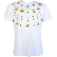 Versace  T Shirt B3GTB73B 36598  men's T shirt in White