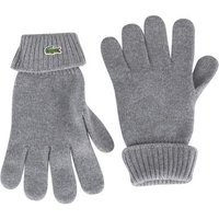 Lacoste  Men's Croc Gloves, Grey  men's Gloves in Grey