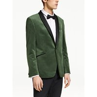 Kin Velvet Slim Fit Dress Suit Jacket, Sage