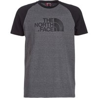 The North Face  MENS S/S RAGLAN EASY TEE  men's T shirt in Grey