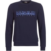 Napapijri  BEVORA  men's Sweatshirt in Blue