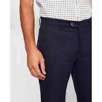 Classic Fit Textured Trousers