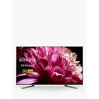 Sony Bravia KD75XG9505 LED HDR 4K Ultra HD Smart Android TV, 75 with Freeview HD & Youview, Black