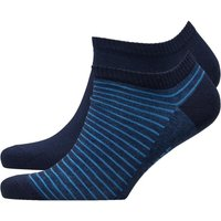 Levi's Mens 168SF Sneaker Two Pack Socks Blue/Navy