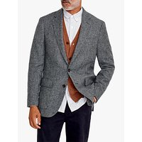 J.Crew Moon Blazer, Grey Herringbone