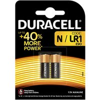 DURACELL Specialty 1.5V Alkaline N Batteries, Pack of 2