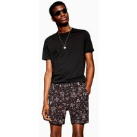 Mens Multi Floral Tapestry Woven Shorts, Multi