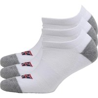 Ben Sherman Mens Three Pack Trainer Liner Socks White
