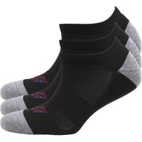 Ben Sherman Mens Three Pack Trainer Liner Socks Black