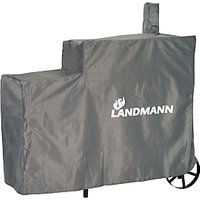 Landmann Tennessee Charcoal 200 Smoker Cover, Grey / White