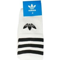 adidas  Mid Cut Crew Sock 3 Pack  men's Stockings in White