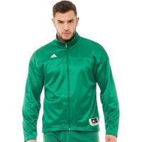 adidas Mens Ekit Jacket Kelly/White