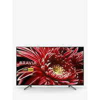 Sony Bravia KD55XG8505 LED HDR 4K Ultra HD Smart Android TV, 55 with Freeview HD & Youview, Black