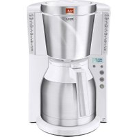 MELITTA Look IV Therm Timer Filter Coffee Machine - White & Stainless Steel, Stainless Steel
