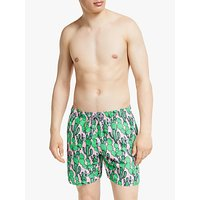 Boardies Dry Heat Cactus Swim Shorts, Pink/Green