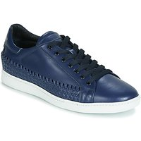 John Galliano  6712  men's Shoes (Trainers) in Blue