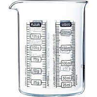 Pyrex Measure and Mix Jug, 250ml, Clear