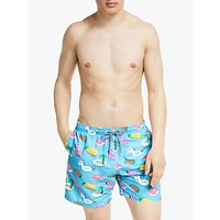 Boardies Pool Inflatables Swim Shorts, Blue