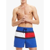 Tommy Hilfiger Colour Block Swim Shorts, Blue