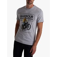 Barbour International Short Sleeve Graphic T-Shirt, Grey