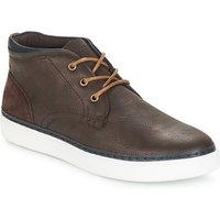Andr  PAPIER  men's Shoes (High-top Trainers) in Brown