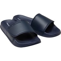 French Connection Mens FC Strap Sliders Marine/White