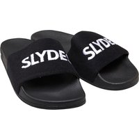 SLYDES Mens Plya Sliders Black/White