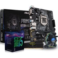 PC SPECIALIST Intel Core i5 Processor, PRIME H310M-A Motherboard, 8 GB RAM & Intel Cooler Components