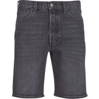 Levis  501 HEMMED SHORT  men's Shorts in Blue