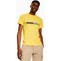 Mens Yellow Post Malone T-Shirt, Yellow