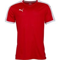 Puma Mens Pitch Shirt Red/White