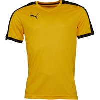 Puma Mens Pitch Shirt Yellow/Black