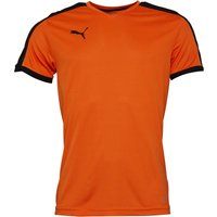 Puma Mens Pitch Shirt Orange/Black