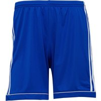 adidas Mens Squadra 17 Football Shorts Bold Blue/White
