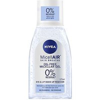 NIVEA MicellAir Oil-Free Micellar Eye Make-up Remover Gel, 125ml