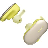 SONY WF-SP900Y Wireless Bluetooth Headphones - Yellow, Yellow