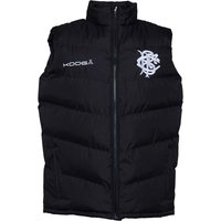 KooGa Mens Barbarians Quilted Gilet Black