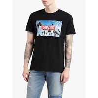 Levi's Short Sleeve Graphic T-Shirt, Mineral Black