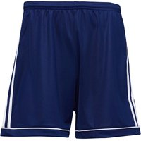 adidas Mens Squadra 17 Football Shorts Dark Blue/White